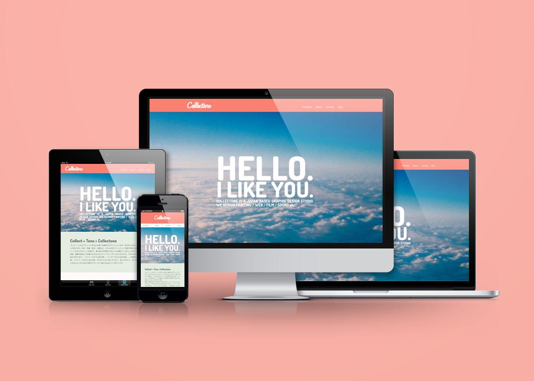 コレクトーン webサイトデザイン