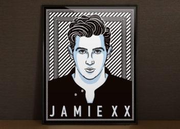 jamie xxポスターデザイン