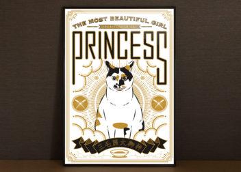 猫ポスターデザイン