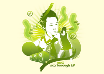mutt scarborough EP ジャケットデザイン