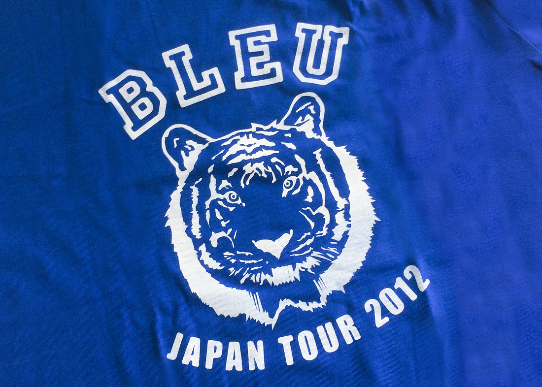 bleu japan tour tshirt 3